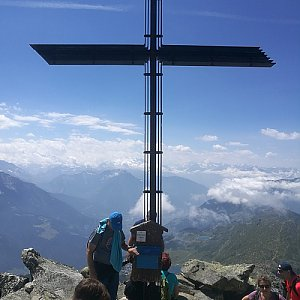 martenzites na vrcholu Bettmerhorn (29.7.2020 13:02)