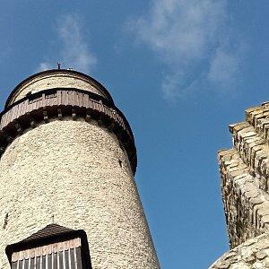 Iva Purmenská na vrcholu Štramberk, Trúba (2.4.2021 15:22)