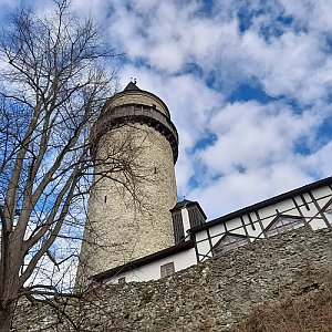 Milan Meravy na vrcholu Štramberk, Trúba (4.4.2021 19:53)