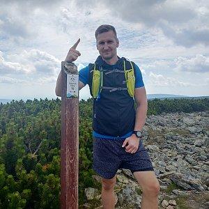 Jiří Tomaštík na vrcholu Svorová hora (24.7.2020 12:18)