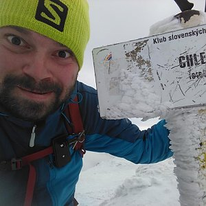Pvlzck na vrcholu Chleb (12.1.2018 0:00)