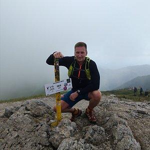 Jiří Tomaštík na vrcholu Chleb (4.7.2020 10:17)