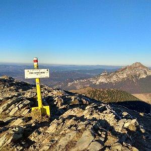 Radůza na vrcholu Chleb (16.11.2018 15:48)