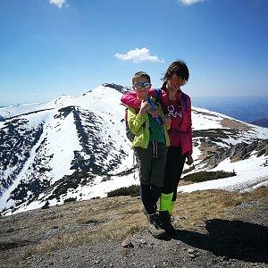 Petra Kosarkova na vrcholu Chleb (21.4.2019 14:41)