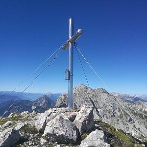 martenzites na vrcholu Kreuzmauer (21.8.2020 10:50)