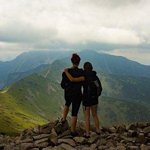 Terez Valčíková na vrcholu Kasprov vrch (23.7.2018 15:37)