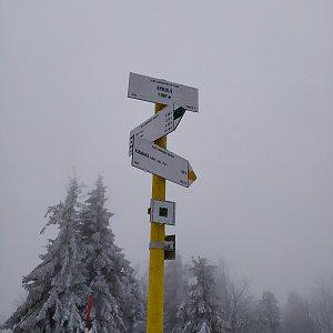 Satánek na vrcholu Kykula (6.2.2020 13:09)