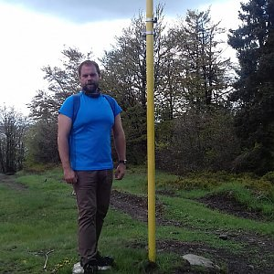 Petr Zajac na vrcholu Kykula (27.5.2020 13:18)