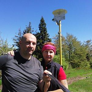 Dana + jirka na vrcholu Kykula (6.6.2020 10:40)