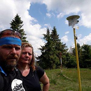 Martin a Jana Halamíčkovi na vrcholu Kykula (4.7.2020 14:58)