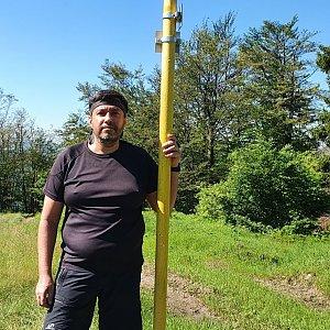 Jiří Gryz na vrcholu Kykula (5.7.2020 9:48)