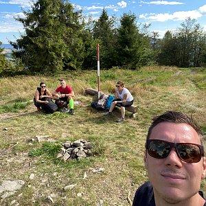 cadic na vrcholu Kykula (5.9.2020 14:00)