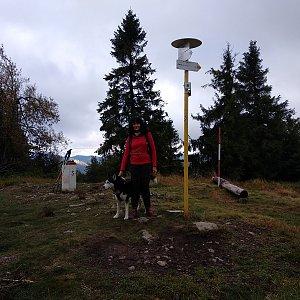 Maja na vrcholu Kykula (27.9.2020 13:47)