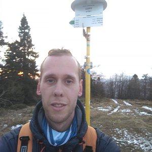 Radek na vrcholu Kykula (12.12.2020 15:32)