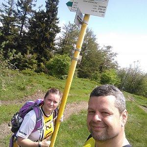 Ombre_Zamakejsi.cz na vrcholu Kykula (14.6.2020 11:35)