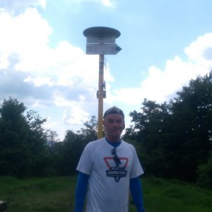 Jaroslav Macura na vrcholu Kykula (20.6.2021 12:53)