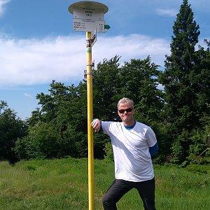 Jaroslav Macura na vrcholu Kykula (27.6.2021 9:41)