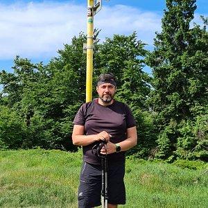 Jiří Gryz na vrcholu Kykula (27.6.2021 9:40)