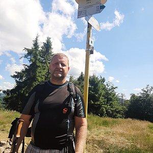 Dřevák na vrcholu Kykula (10.7.2021 15:06)