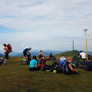 Michal na vrcholu Latiborská hoľa (15.8.2020 9:32)