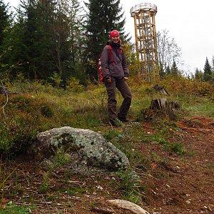 Iveta Válová na vrcholu Světlý vrch (18.10.2020)