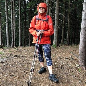 Radka Dubská na vrcholu Soláň V vrchol I (25.7.2021 11:01)