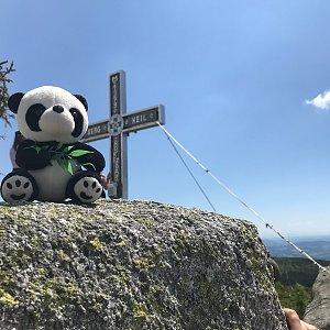 Iveta Steinerová na vrcholu Plechý (13.6.2020 14:03)