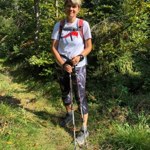 Radka Dubská na vrcholu Magura (15.9.2021 13:58)
