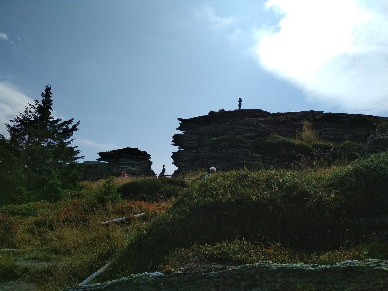 Katka na vrcholu Vozka (30.8.2018 12:16)