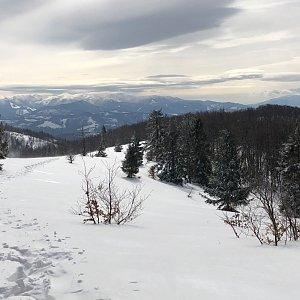 RŠind na vrcholu Malá Rača (29.2.2020 16:48)