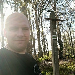 Petr Petrik na vrcholu Malá Rača (2.6.2020 18:29)