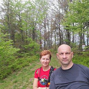 Dana + jirka na vrcholu Malá Rača (6.6.2020 13:10)