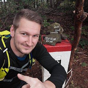 Jiří Tomaštík na vrcholu Malá Rača (6.10.2020 11:17)