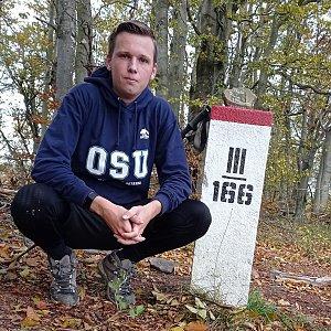 Michal Dimun na vrcholu Malá Rača (27.10.2020 11:26)