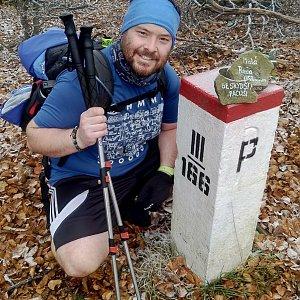Jakub Špaček na vrcholu Malá Rača (12.11.2020 8:49)