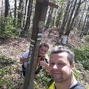 Ombre_Zamakejsi.cz na vrcholu Malá Rača (14.6.2020 14:10)