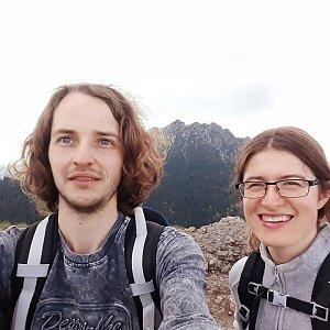 Pavla Lžičařová na vrcholu Malý Rozsutec (20.5.2018 12:18)