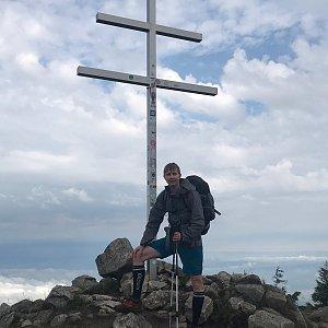 David na vrcholu Minčol (21.7.2020 9:19)