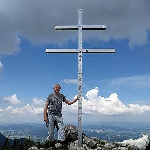 Pepino na vrcholu Minčol (2.6.2019 11:55)