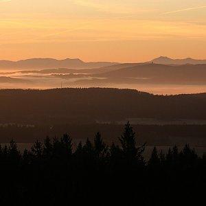 Bouřka na vrcholu Havran (15.11.2020 7:28)