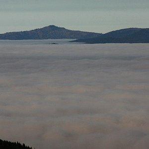 Bouřka na vrcholu Nad Rakouskou loukou (11.11.2020 8:37)
