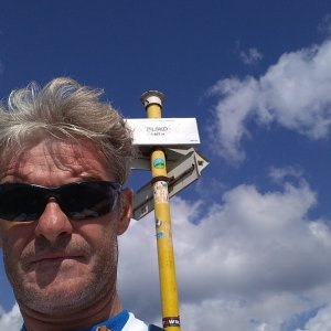 Jaroslav Macura na vrcholu Pilsko (13.8.2021 14:54)