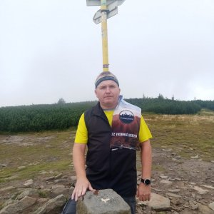 Michael na vrcholu Pilsko (27.8.2021 12:28)