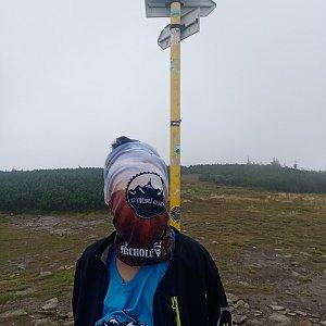 Maty na vrcholu Pilsko (27.8.2021 12:26)