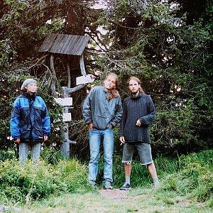 Bouřka na vrcholu Poľana (23.7.2002 19:50)