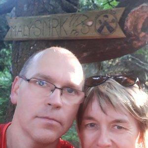 BUKY a IRČA na vrcholu Malý Smrk (5.9.2019 18:03)