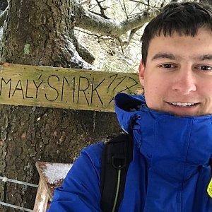 Bronislav na vrcholu Malý Smrk (7.3.2020 11:30)