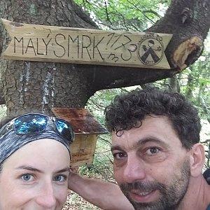 Babunka159 na vrcholu Malý Smrk (17.6.2018 14:30)