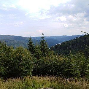 Ilona Mušálková na vrcholu Malý Smrk (20.7.2019 15:30)