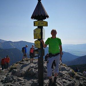 Pepino na vrcholu Sivý vrch (15.9.2020 12:01)